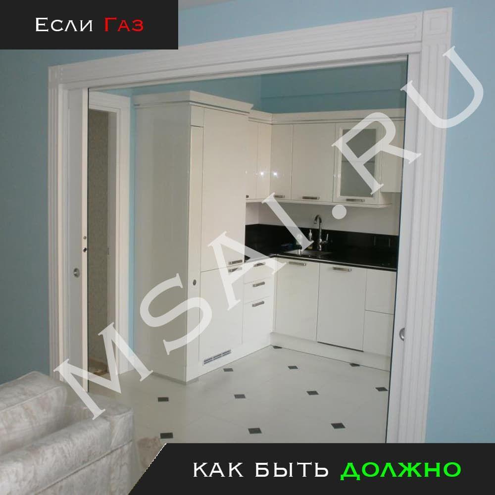 Дверной блок с плотным притвором 3