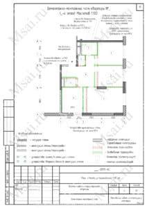 Расширение кухни за счет комнаты 2