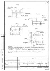 Схемы устройства легких перегородок 2
