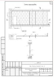 Схемы устройства легких перегородок 4