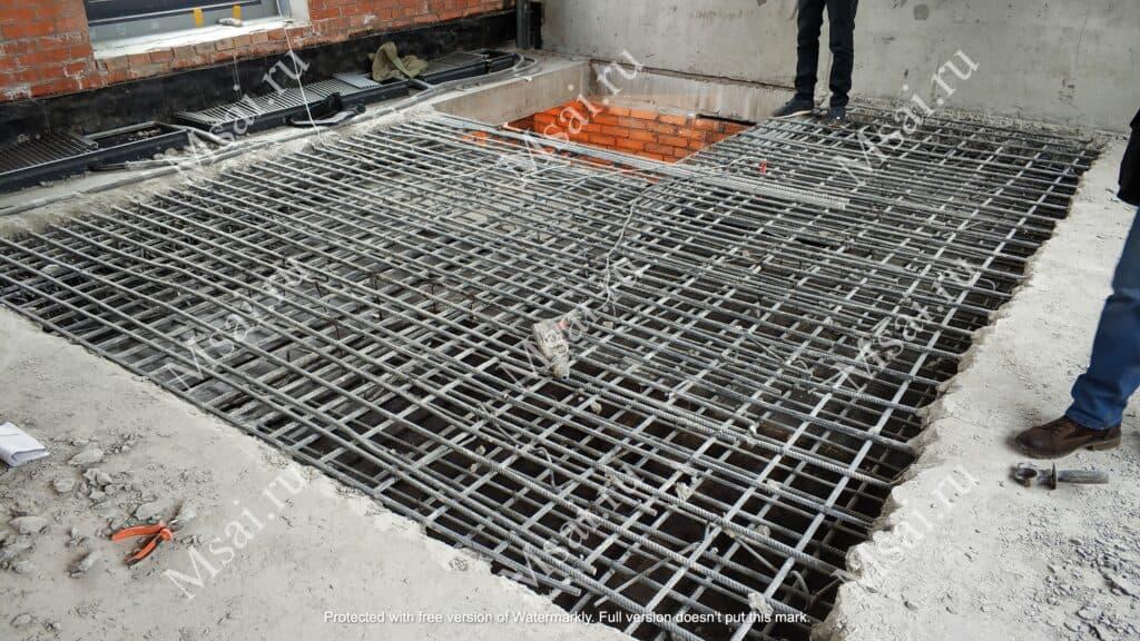 Усиление проема металлоконструкциями 8