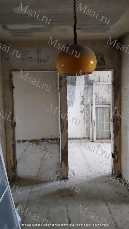 Фотофиксация помещения в процессе ремонта 7