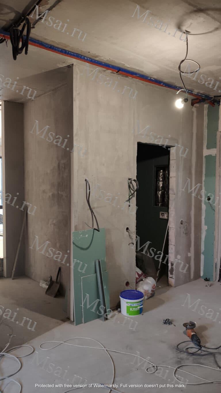 Фотофиксация помещения в процессе ремонта 3