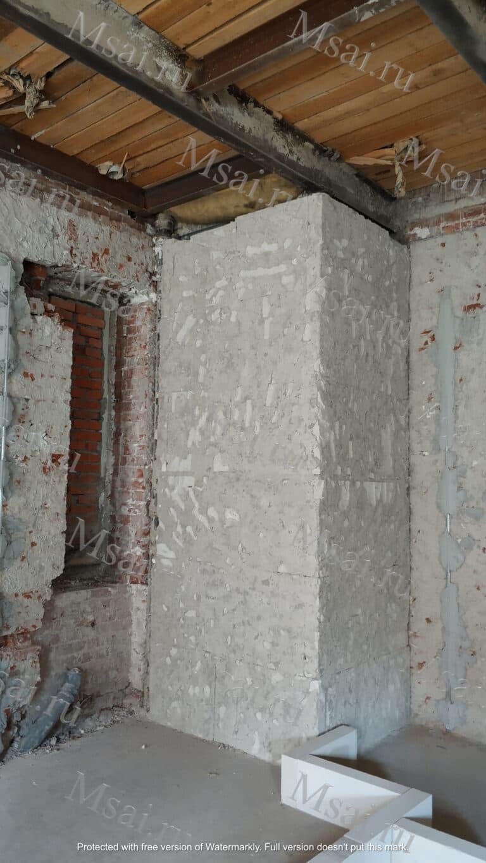 Фотофиксация помещения с усилением перекрытий 3