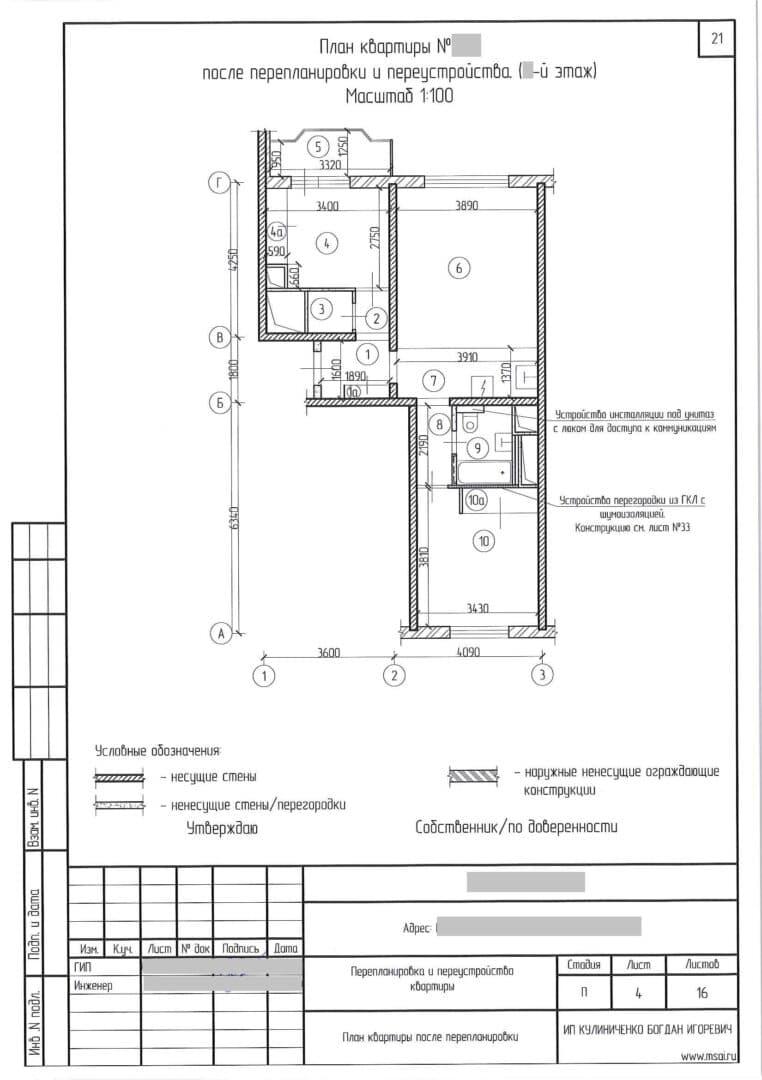 You are currently viewing Проект переноса кухни в комнату
